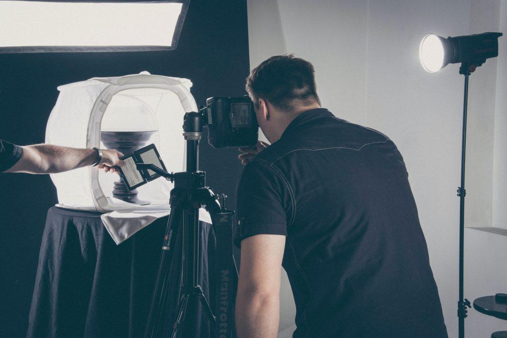 Come fare foto dei prodotti per siti e-commerce